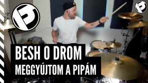 Meggyújtom a pipám – Besh o droM | Drumcover by Per Hoogendoorn